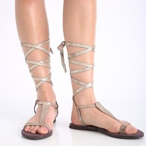 Free People Gladiator Dahlia Sandal Size 40